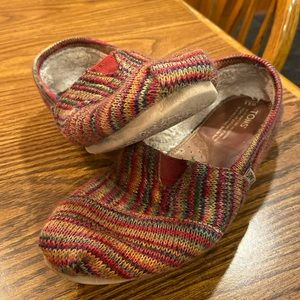 TOMS, Size 8.5 Multi-Colored Shoes